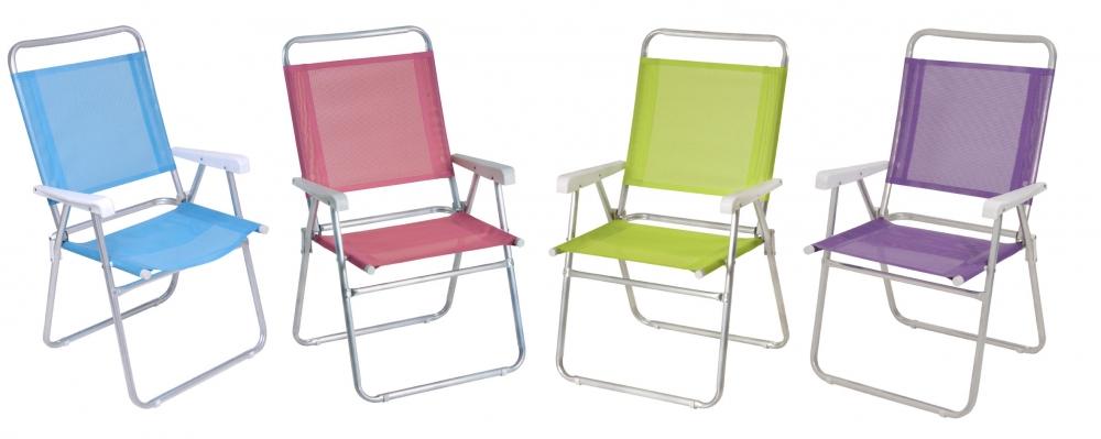 Cadeira Master Plus alumínio Fashion Mor