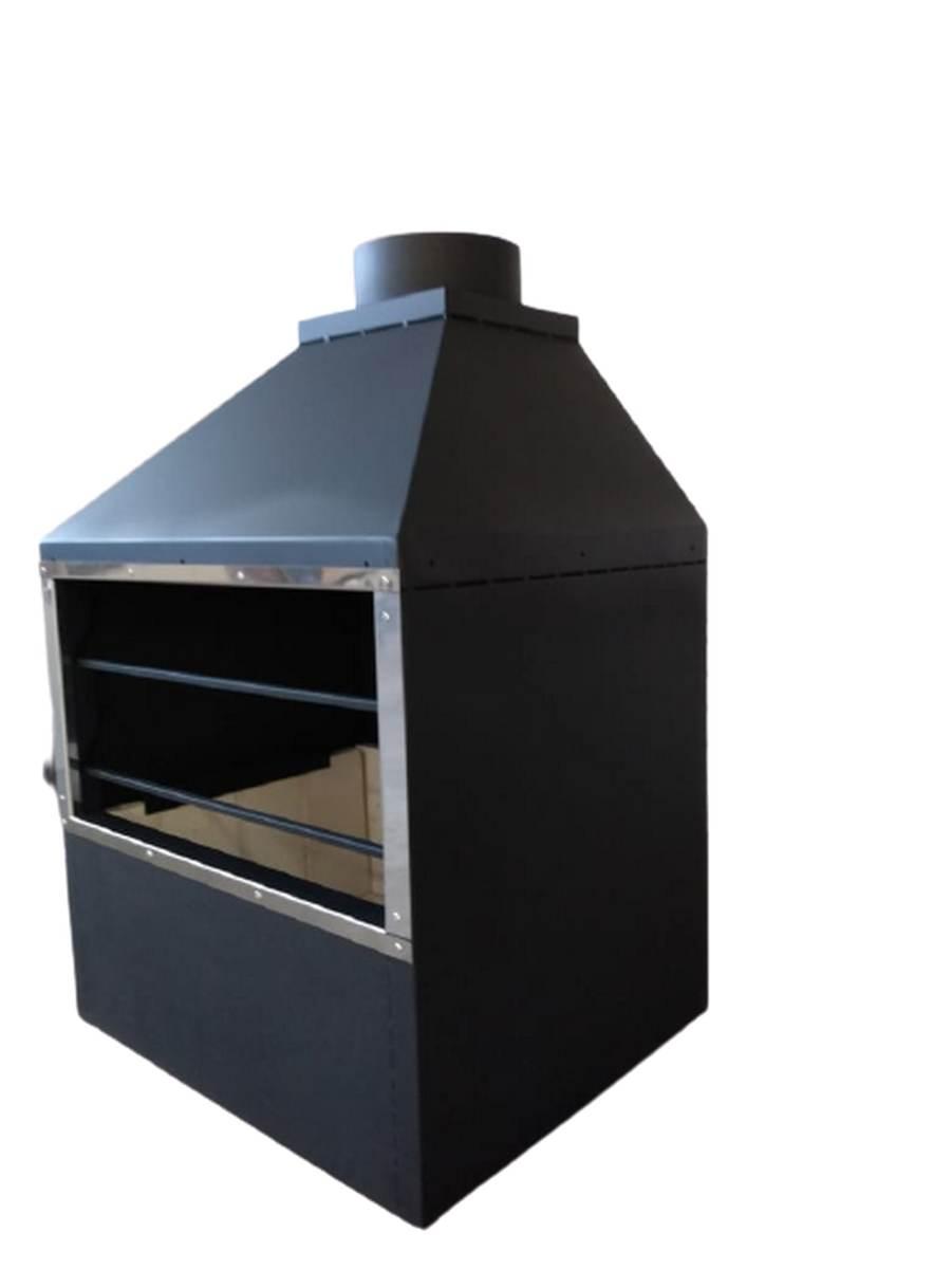 Churrasqueira Gourmet Lenha/Carvão FC60 Flamba