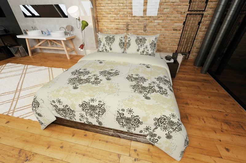 Cobre-leito Casal 2,20x2,40m Sofisticata Home Rendeza Atlântica