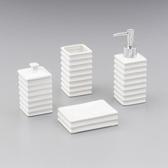 Conjunto Banheiro Cerâmica Wave 4pc Lyor
