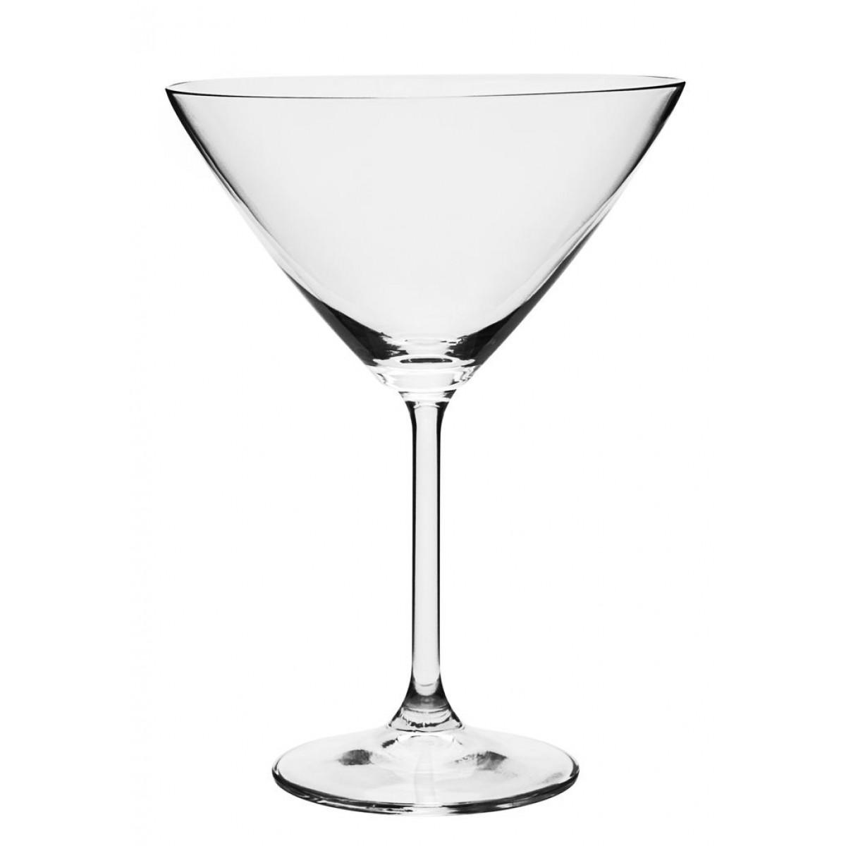 Conjunto De Taças Martini 280ml Gastro Bohemia