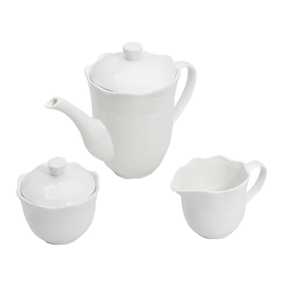 Conjunto Para Café Princess Porcelana Super Resistente Lyor