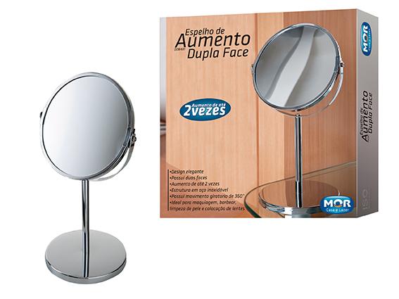 Espelho Com Aumento E Dupla Face Mor