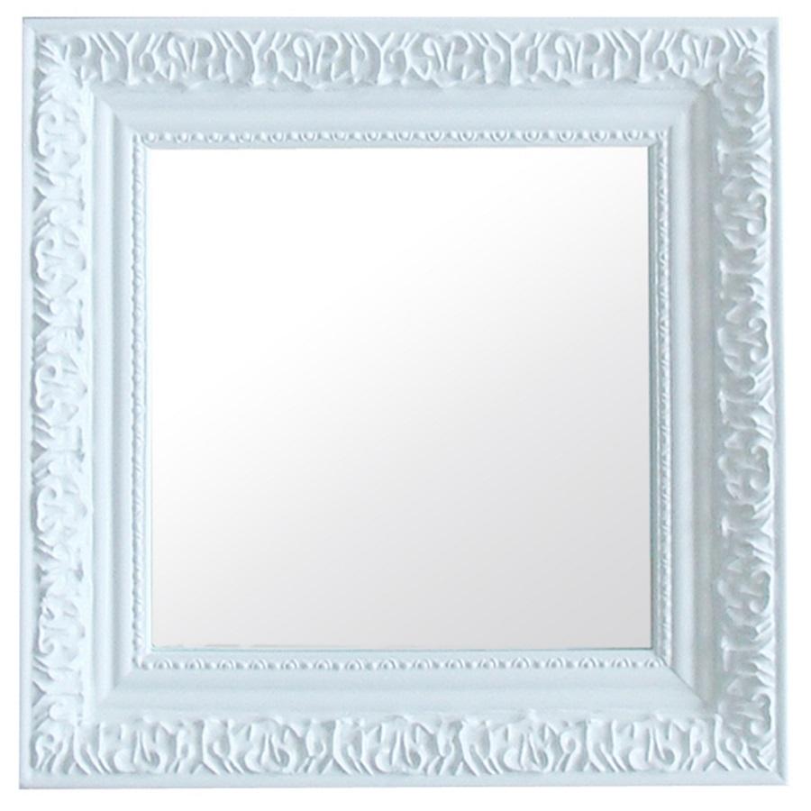 Espelho Urban Rococó Provençal Branco Urban Brasil