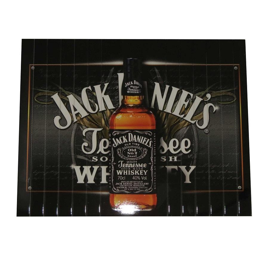 Esteira Estofado Estampada Sem Porta Copo Jack Daniels Portal