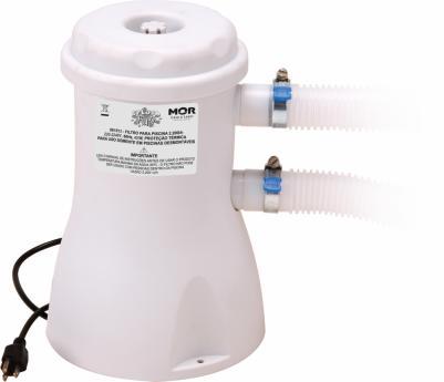 Filtro para Piscina 2200 Litros 220V Mor