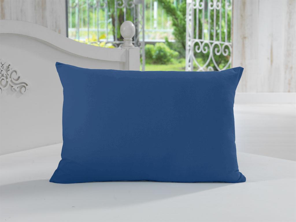 Fronha Avulsa 100% Algodão Lisa Azul Marinho Soft