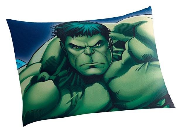 Fronha Avulsa Estampada Avengers 50x70cm Lepper
