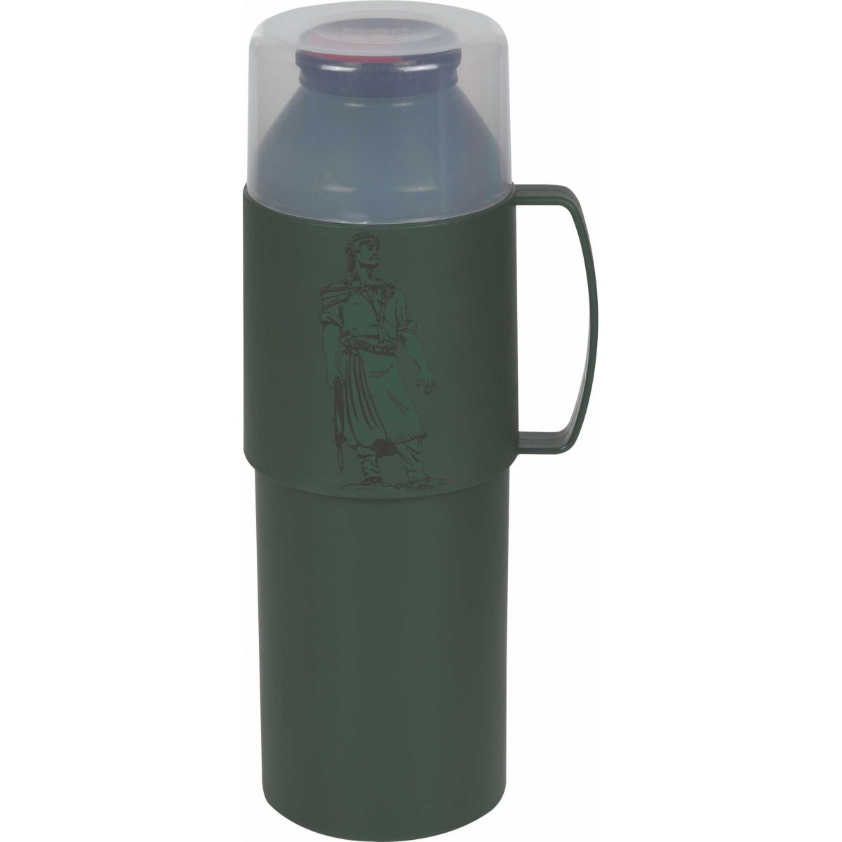 Garrafa Térmica 1 Litro Farroupilha Verde Mor