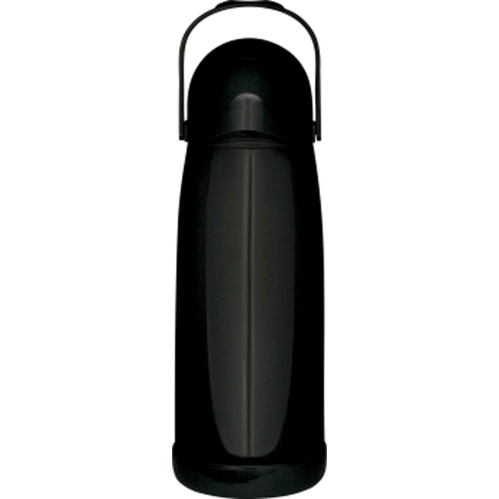 Garrafa Térmica Pressão 1,9 Litros Nobile Preta Mor