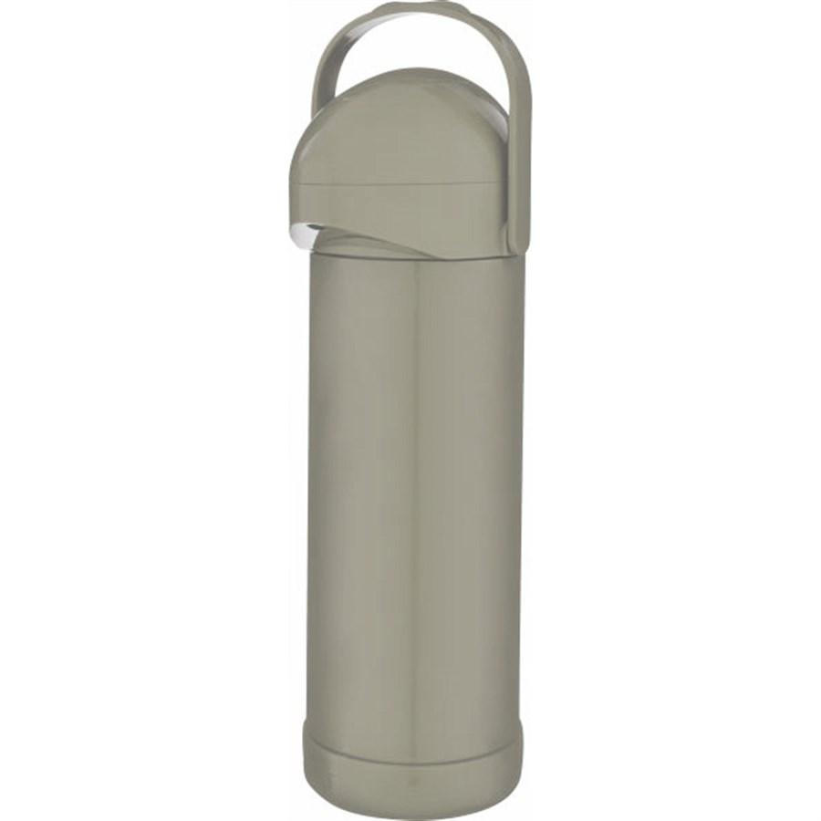 Garrafa Térmica Pressão Nobile 1 Litro Bege Mor