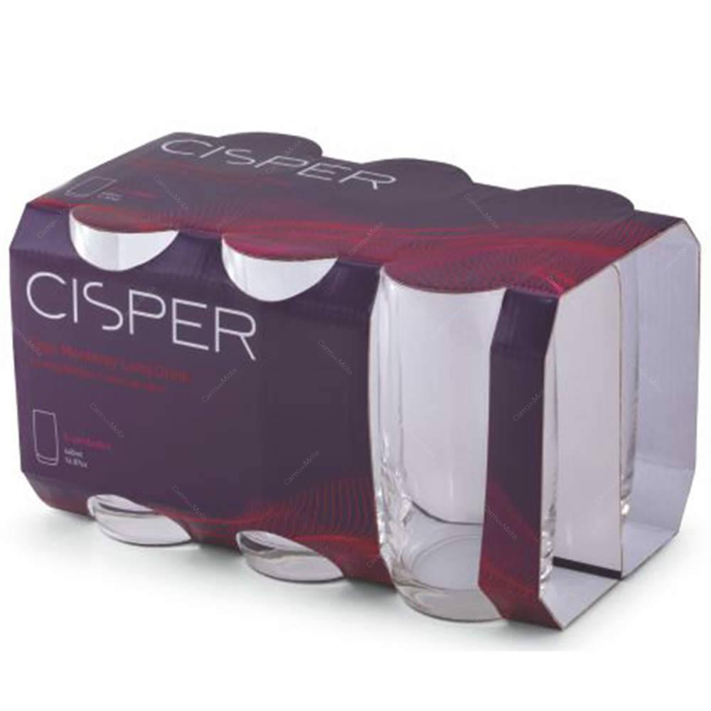 Jogo Copos Monterey Long Drink 440ml 6 peças Cisper