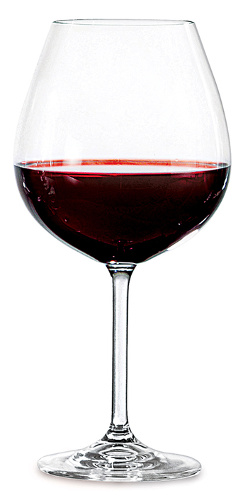 Jogo de Taças Bordeaux Gastro 650ml 6pc Cristal Bohemia