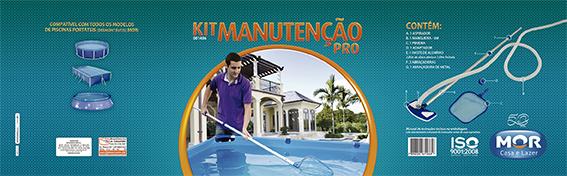 Kit para Limpeza e Manutenção de Piscina Pro Mor