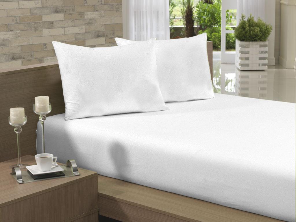 Lençol Avulso Casal Especial 210x260 Branco Soft