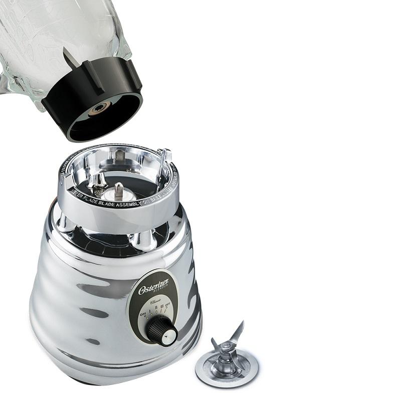 Liquidificador Clássico 3 Velocidades 600w 220v Prata Oster