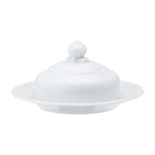 Manteigueira 12 Linha Pomerode Branco Porcelana Schmidt