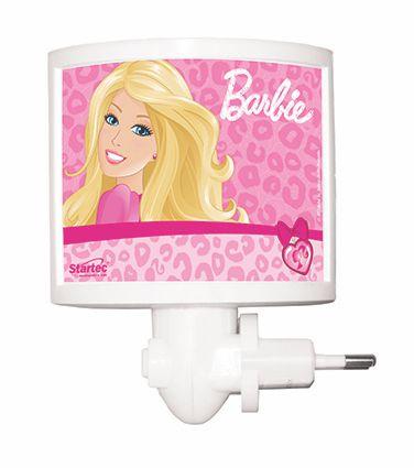 Mini Abajur Infantil Barbie Led Bivolt Startec