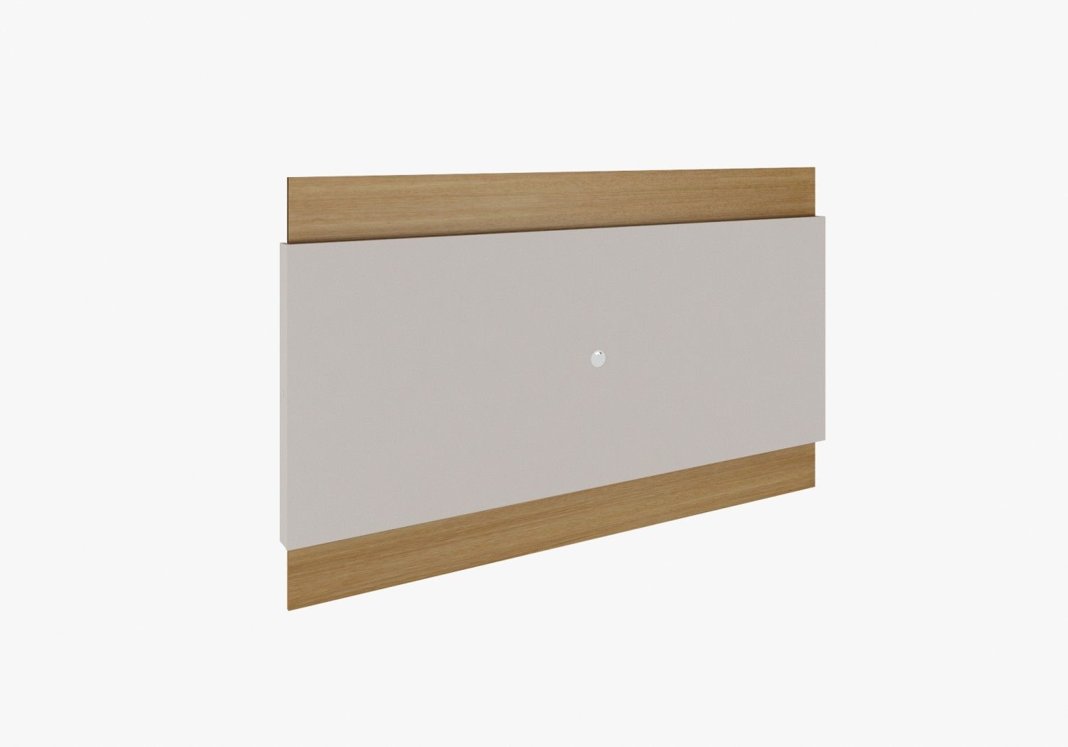 Painel 1,80m Lens Fit Natural Off White Rudnick