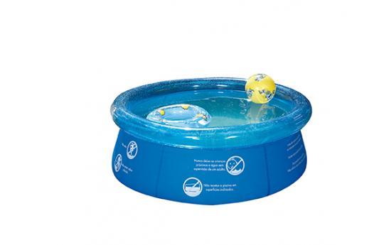 Piscina Inflável Splash Fun Ø1,65m x 55cm 1000 Litros Mor