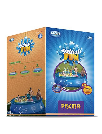 Piscina Inflável Splash Fun Ø3,60m x 90cm 7800 Litros Mor