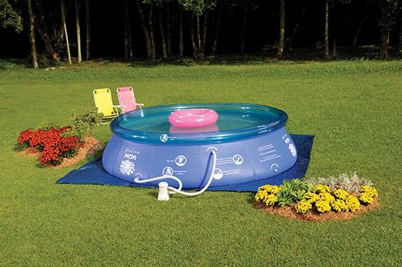 Piscina Inflável Splash Fun Ø3,90m x 90cm 9000 Litros Mor
