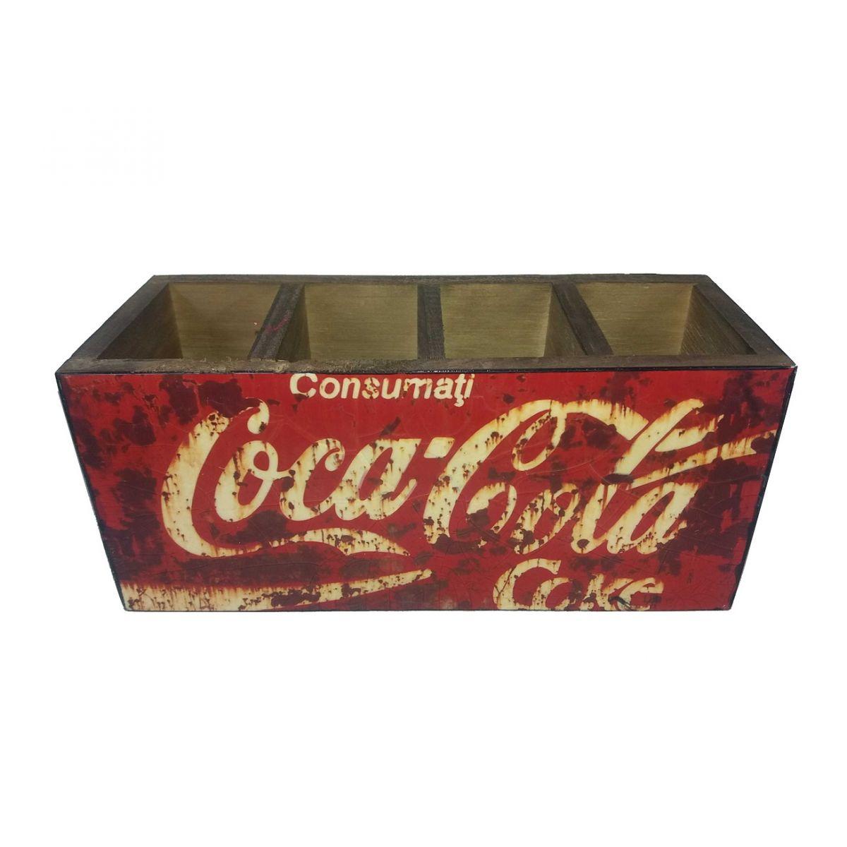 Porta Controle e Objetos Coca Cola Coke Vintage Concept