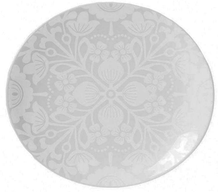 Prato Fundo 24cm Lace White Oxford