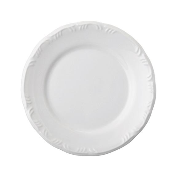 Prato Raso 26cm Linha Pomerode Branco Porcelana Schmidt