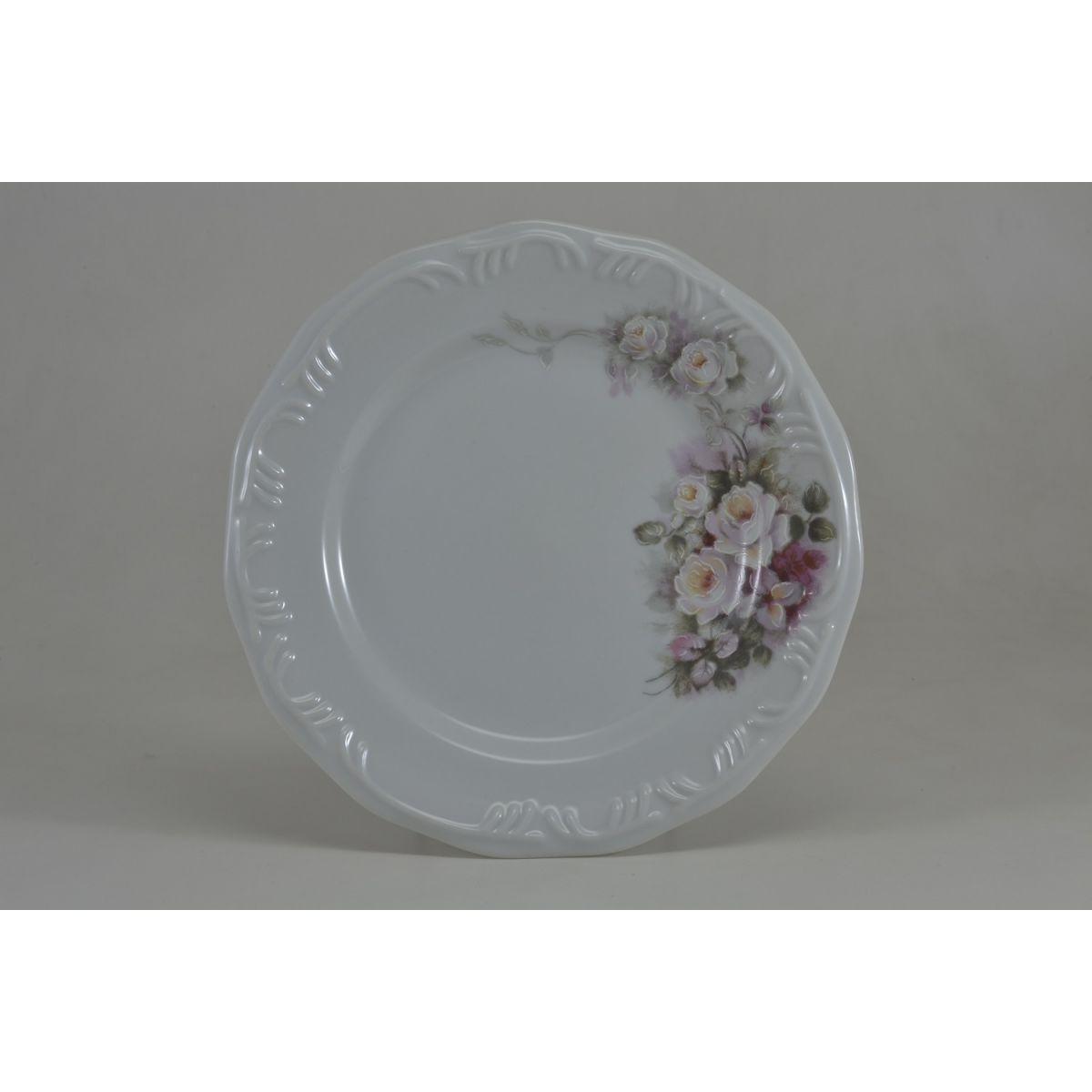 Prato Sobremesa 19cm Linha Pomerode Eterna Porcelana Schmidt