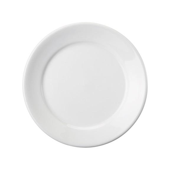 Prato Sobremesa 19 Linha Convencional Branco Porcelana Schmidt