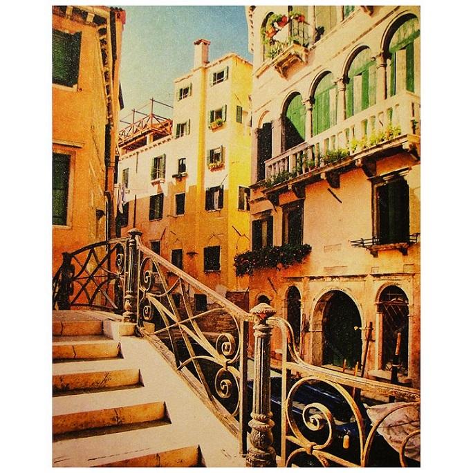 Quadro Decorativo 40x50cm Yellow Buildings Goods