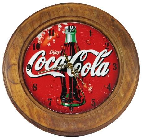 Relógio Decorativo Enjoy Coca Cola Vintage Concept