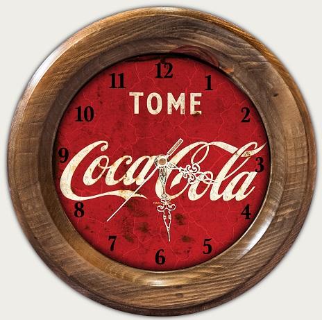 Relógio Decorativo Tome Coca Cola Vintage Concept