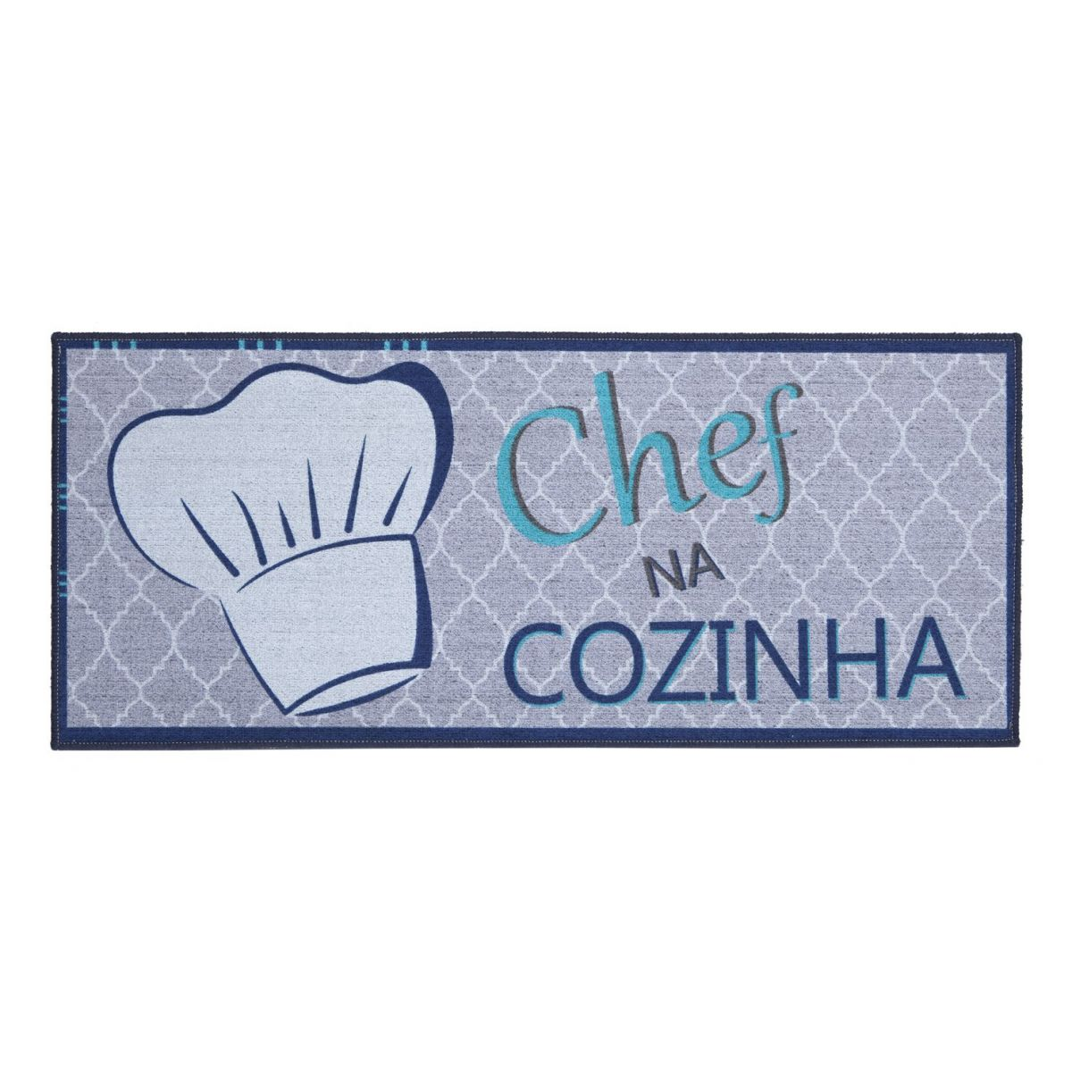 Tapete Avulso Cozinha 50x120cm Pratic Chef na Cozinha Corttex