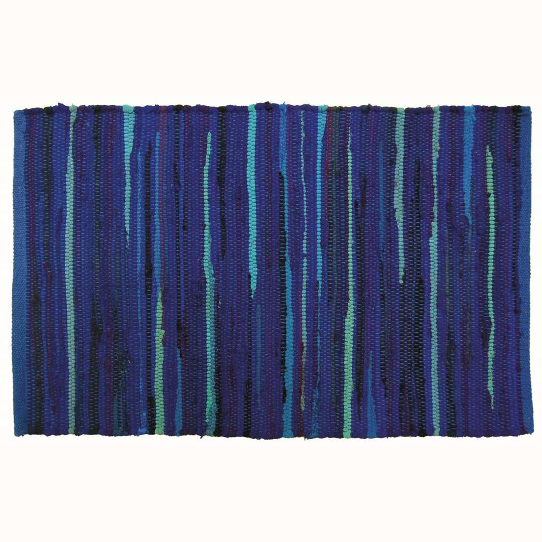 Tapete Cozinha Tyft 50x80cm Azul Yoi