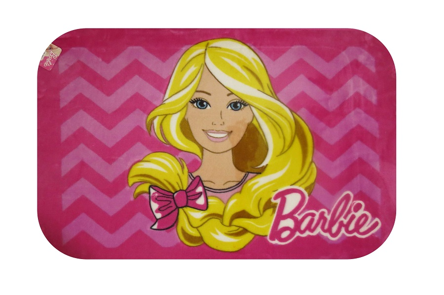 Tapete Infantil 0,80x1,20 Barbie Pop Jolitex Ternille