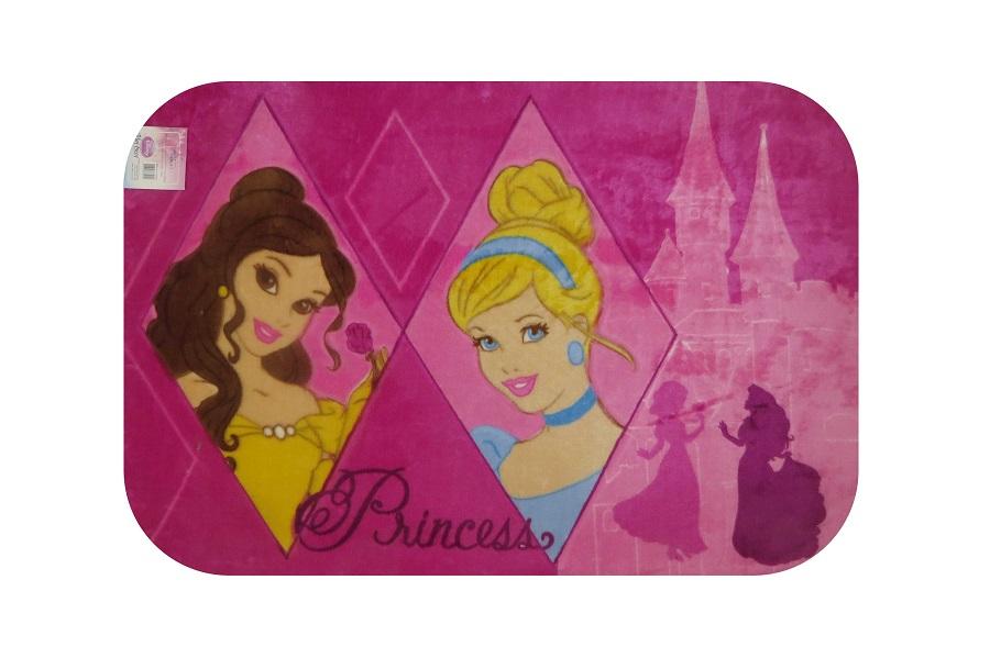 Tapete Infantil 0,80x1,20 Espelho das Princesas Jolitex Ternille