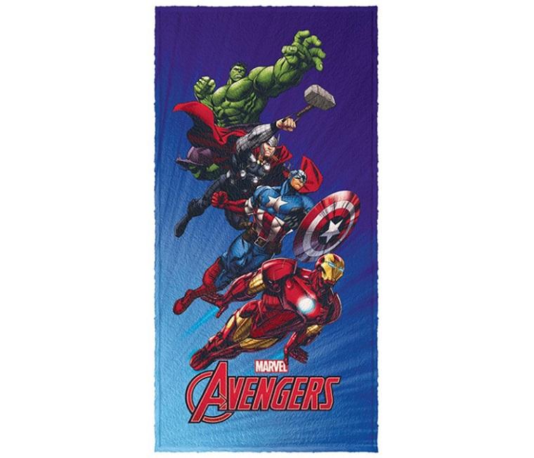 Toalha de Banho Estampada 60x120cm Avengers Lepper