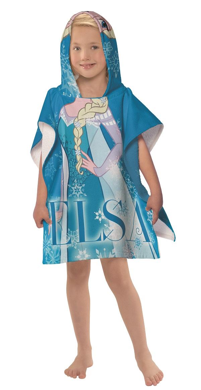 Toalha Infantil Estampada Com Capuz 50x110cm Frozen Lepper