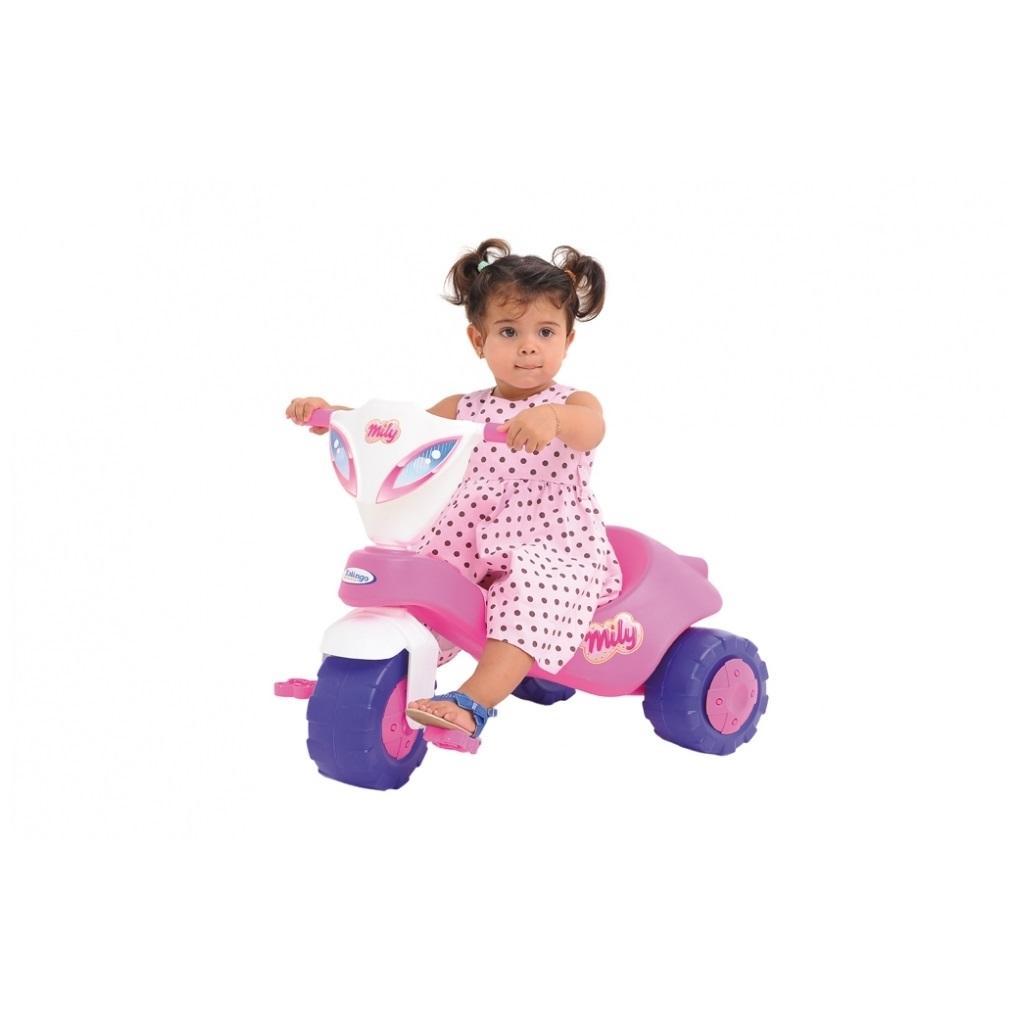 Triciclo Milly Rosa Xalingo