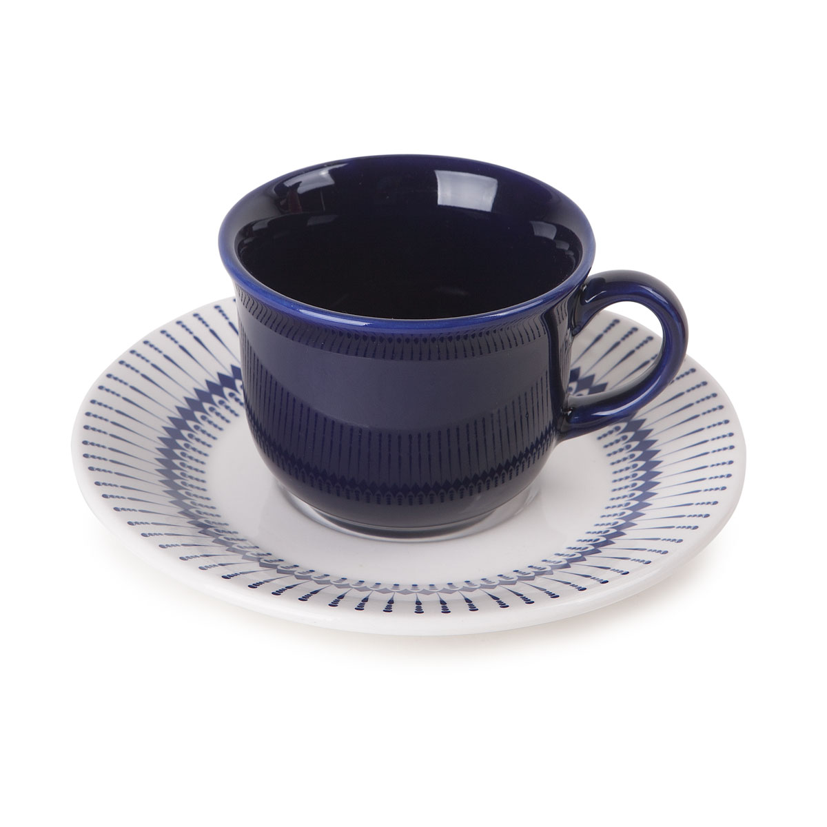 Xícara de Chá 200ml Com Pires 16cm Biona Actual Colb Oxford