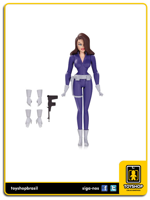 Batman The Animated Series: Talia Al Ghul - Dc Collectibles