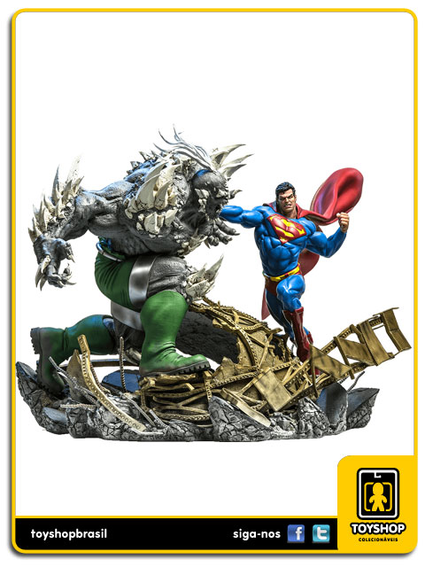 DC Comics: Superman Vs Doomsday 1/6 Battle Diorama - Iron Studios