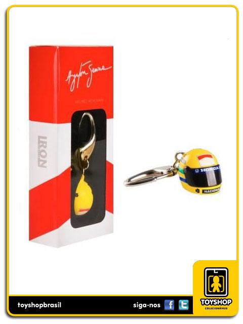 Chaveiro: Ayrton Senna - Iron Studios