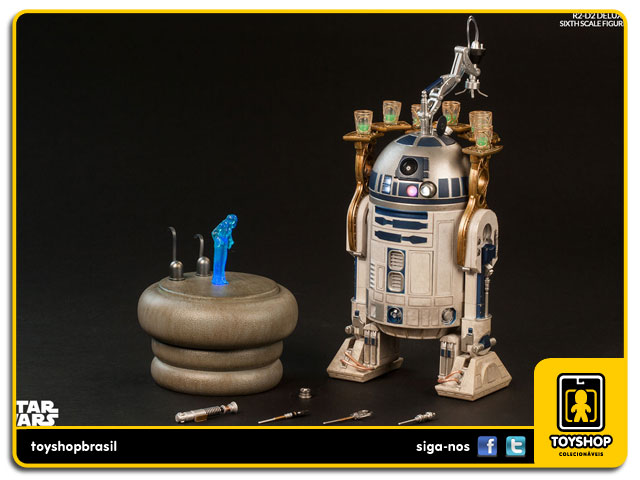 Star Wars: R2-D2 Deluxe Sixth Scale 1/6 - Sideshow