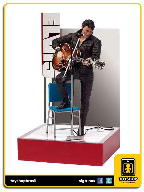 Elvis Presley 68 Comeback Special 30cm - Mcfarlane