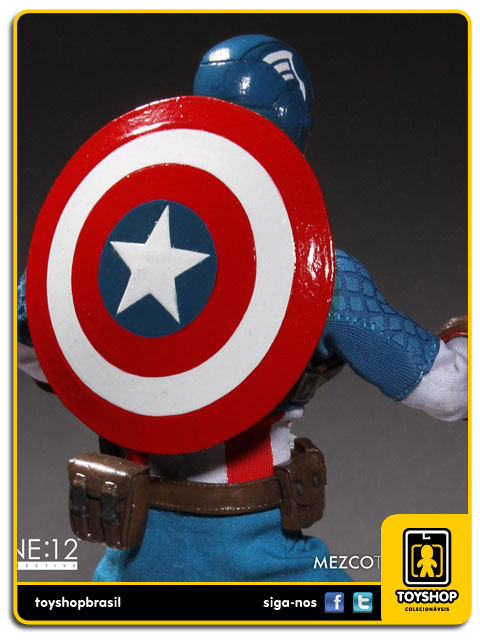Captain America One 12 - Mezco