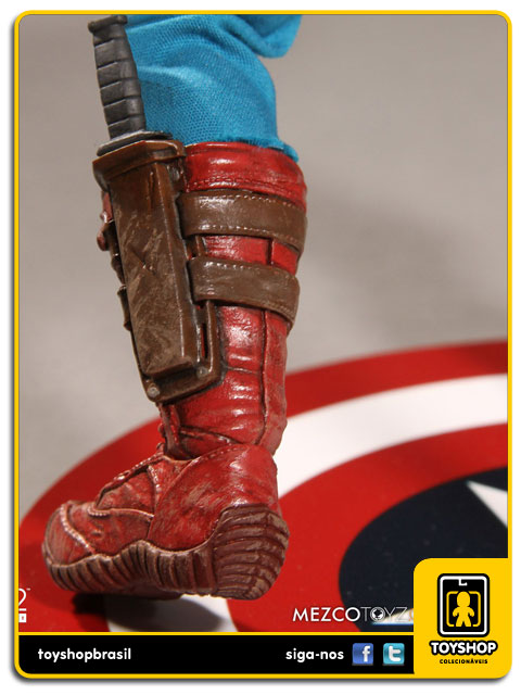 Captain America One 12 - Mezco