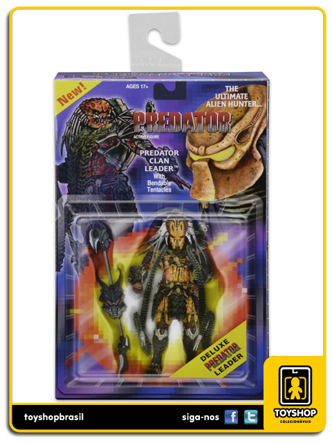 Predator The Ultimate Alien Hunter  Predator Clan Leader  Neca